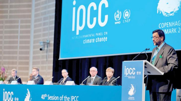 IPCC releases major report this year.