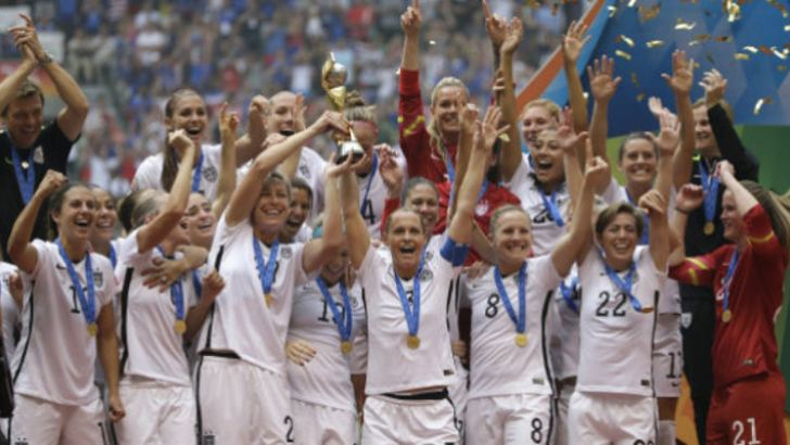 The entire 2015 FIFA Women's World Cup, won by the USA, was played on artificial turfs in Canada
