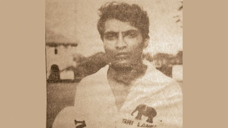 Late H Premasiri captain of the 1986 Police SC rugby side.