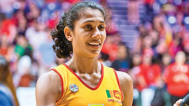 Lankan Netball team captain Chathurangi Jayasuriya