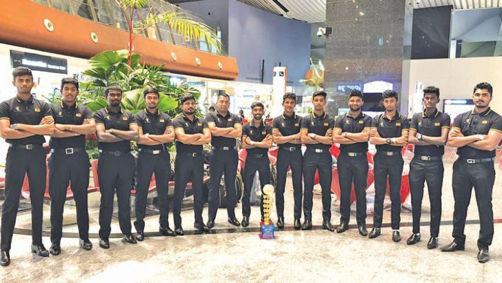 Group 'C' champions Bashers Sri Lanka team