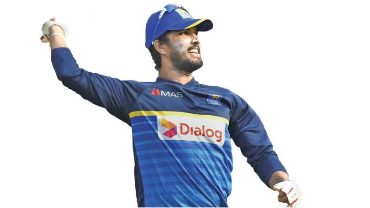 Sri Lanka captain  Dinesh Chandimal