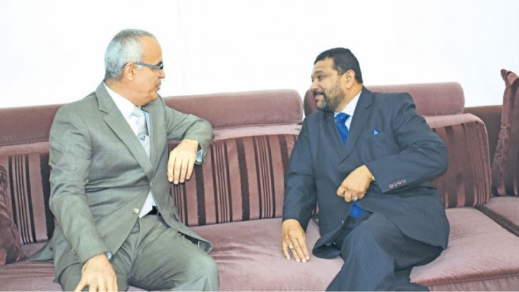 Governor M. Azath S. Salley and UAE Ambassador Ahmed  Ali  Ibrahim.
