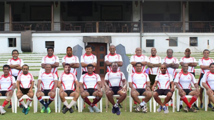 The veteran over 35 & 50 rugby teams for thailand tour