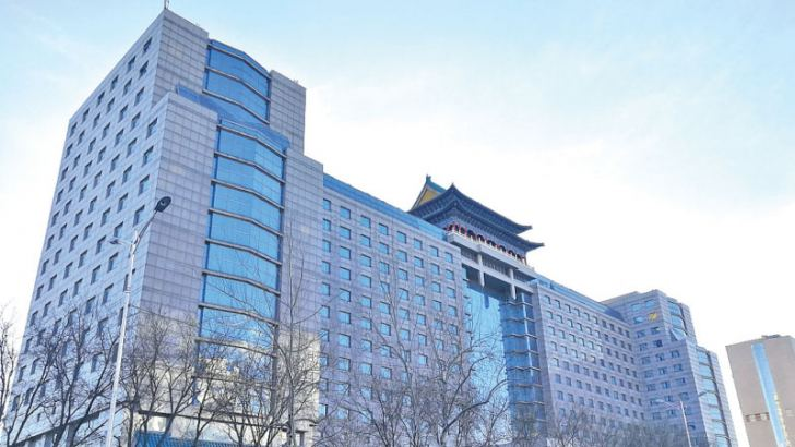 A view of Beijing Jade Palace Hotel, [Photo/VCG]