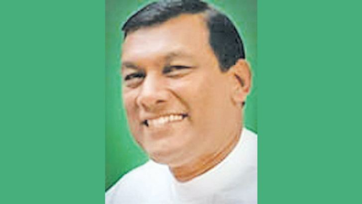 State Minister  Wasantha Aluvihare
