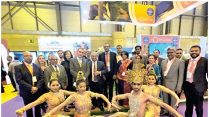 Sri Lanka Tourism participants at FITUR Travel Fair, Spain