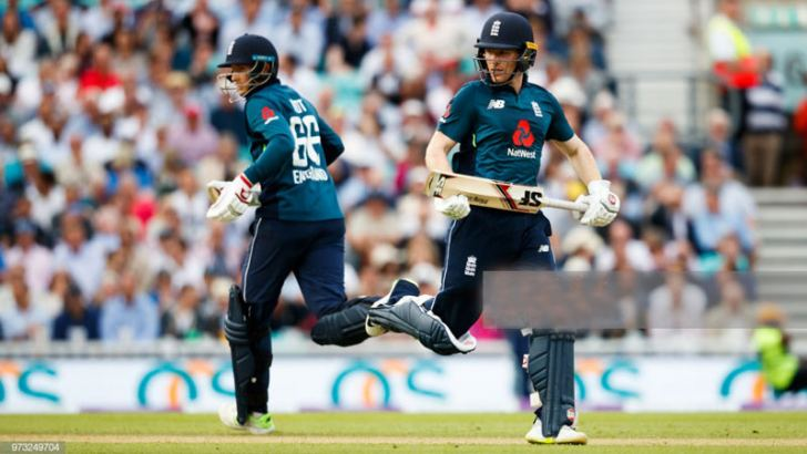 England's big guns in their campaign to win the 2019 World Cup Joe Root and Eoin Morgan.
