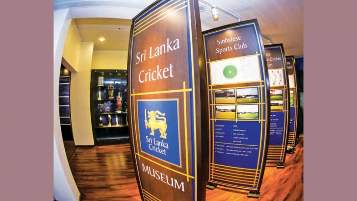 The newly opened Sri Lanka Cricket Museum.