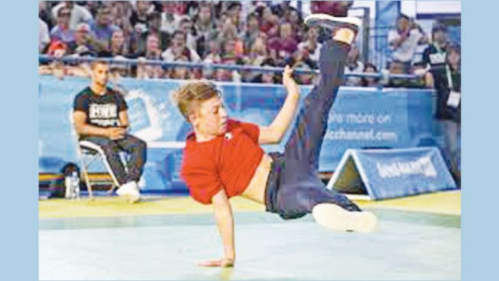 Breakdancing to be included in 2024 Olympics.