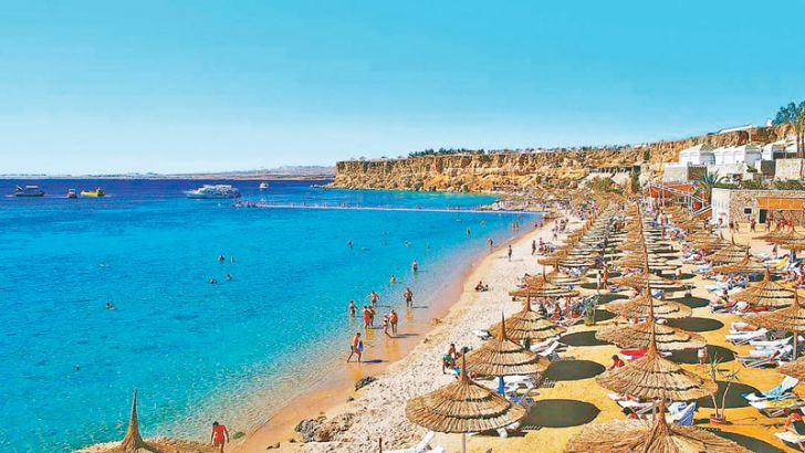 Egypt's Sharm  el Sheikh resort.