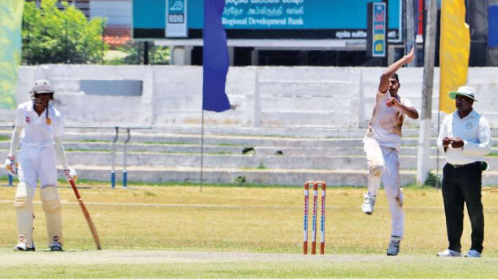 Vidura Subashana (Rajapaksa Central) who took a record 13 wickets in the match.