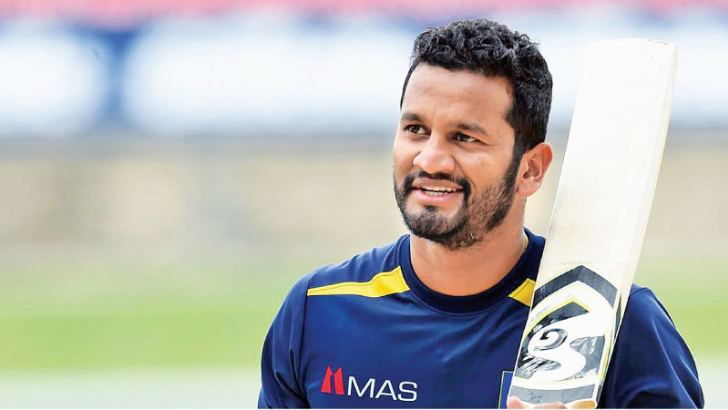 Dimuth Karunaratne is a very capable player.