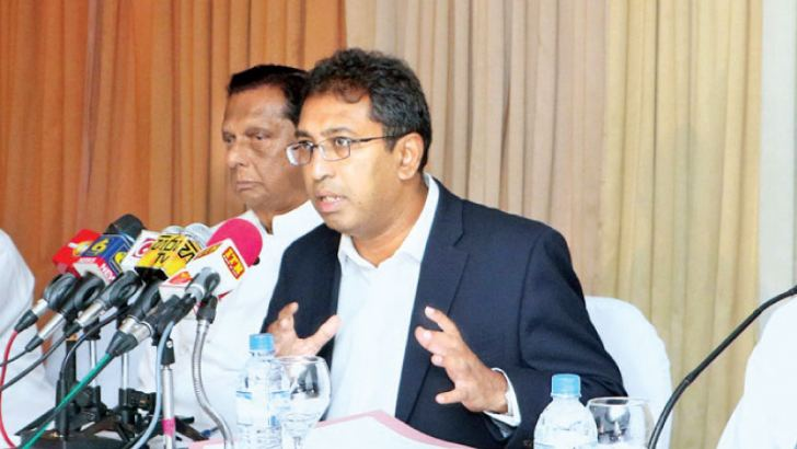 Minister Dr Harsha De Silva  Picture by: Saman Sri Wedage