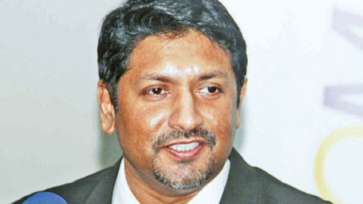 Minister of Mass Media and State Minister of Defence, Ruwan Wijewardene