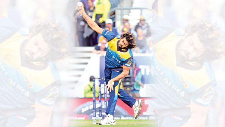 Lasith Malinga was the stand out bowler for Sri Lanka with 13 wickets. (Pictures by Kamal Jayamanna)