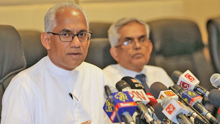 State Minister of Finance Eran Wickramaratne Picture by Rukmal Gamage