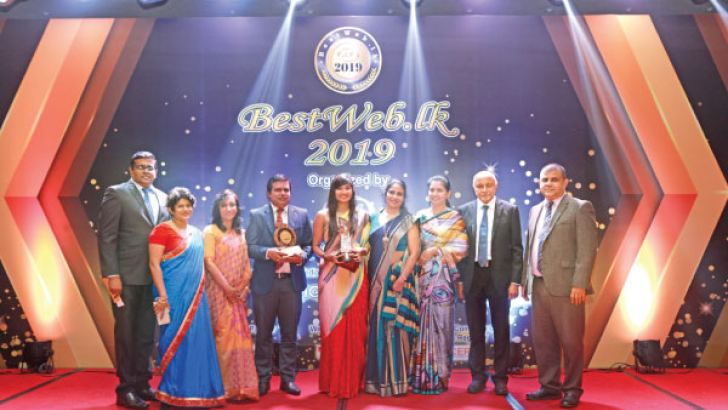Nibm Wins Gold For Best University And Education Institute Category From Bestweb Lk Daily News