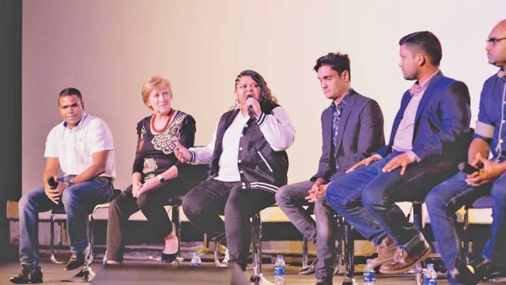 The launch of Ashanthi's music video promoting prevention of suicide