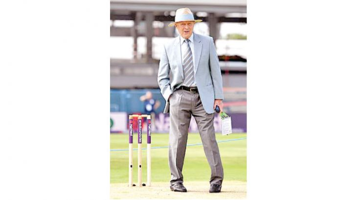 Geoff Boycott during a commentary stint.