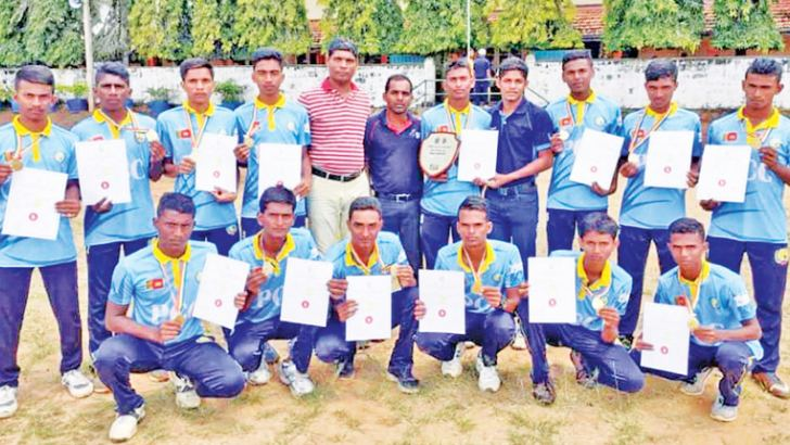 The Champion Pottuvil Central College Under 20 Cricket Team