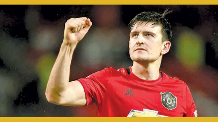 Manchester United defender Harry Maguire is the new club captain. - AFP