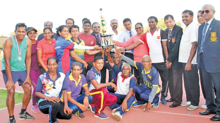 The overall champion Gampaha district team. Picture by Sithum Peiris, Dematagoda Group Corr.