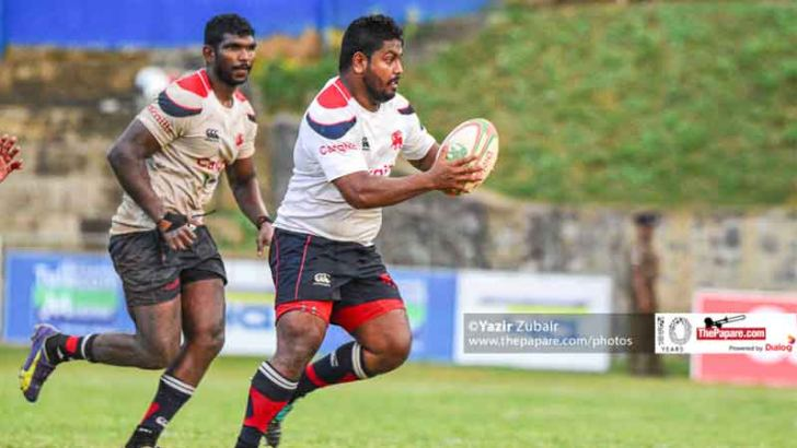 Kandy Sport Club who successfully defended the Dialog 'A' division rugby league title for yet another year in action during the season.