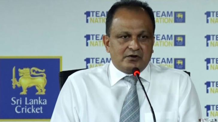 Sri Lanka Cricket CEO Ashley de Silva