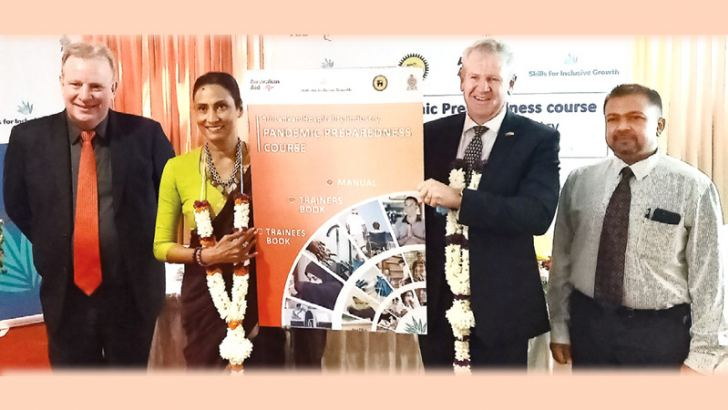 SLTDA Chairman Kimarli Fernando, Australian High Commissioner David Holly, and other officials at the event.