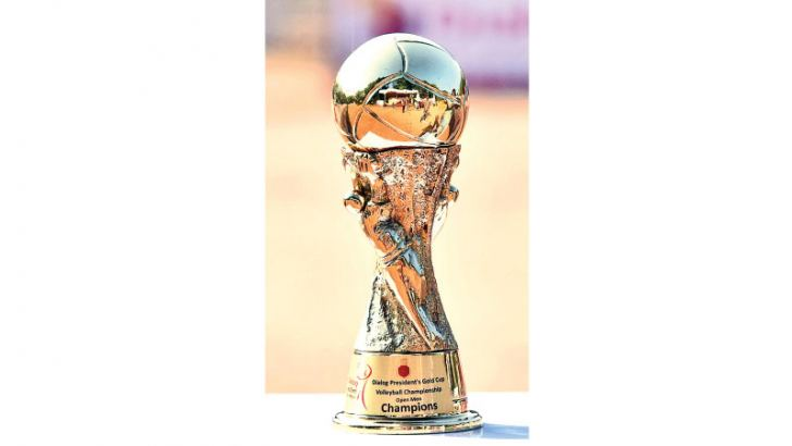 President's Gold Cup Volleyball Champion trophy
