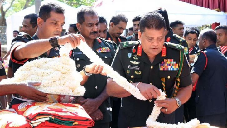 Army flag blessing ceremony tomorrow