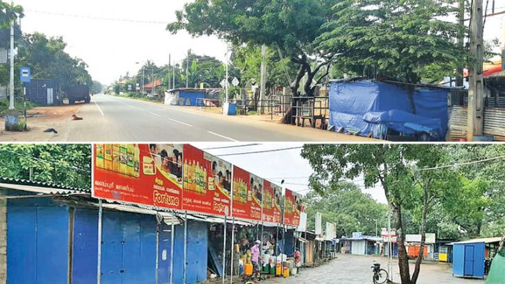 Deserted areas in Jaffna and Kilinochchi. Pictures by Rasula Dilhara Gamage, Northern Province Special Corr.