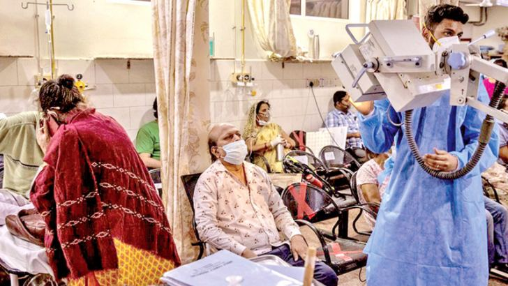 Covid patients in India