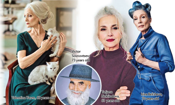 Modelling agency only hires models Over 45 | Daily News