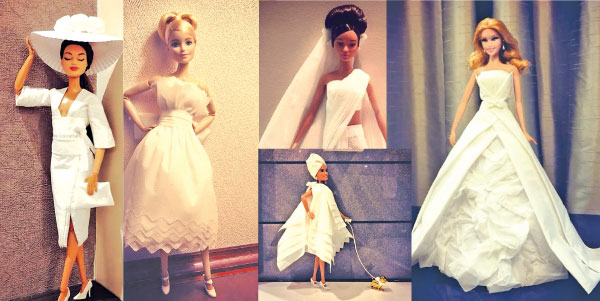 Toilet Paper And Tissue Wedding Dresses Daily News