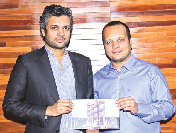 Iconic Developments MD Rohan Parikh and Director Romil Parikh. Picture by Saliya Rupasinghe