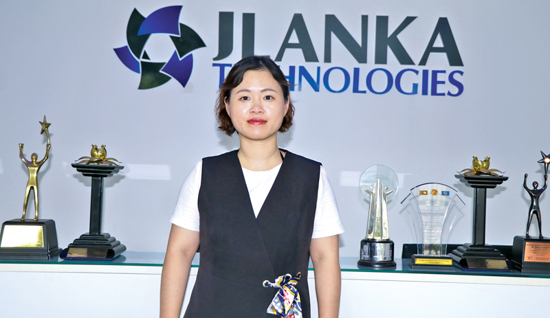 World's leading Solar company Trina Solar's Asia Pacific, Middle East and Africa (APAC-MEA) Regional Marketing Manager Grace Ge.