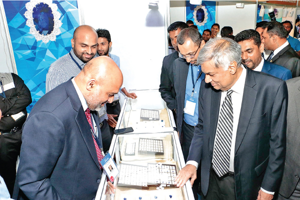 Prime Minister Ranil Wickremesinghe at the opening of FACETS 2017