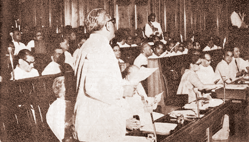 In 1972 the UF Government of Sirimavo introduced a Republican Constitution, assisted by Dr. Colvin R de Silva, instituting freedom from the fetters of colonial domination, a free, sovereign republic.