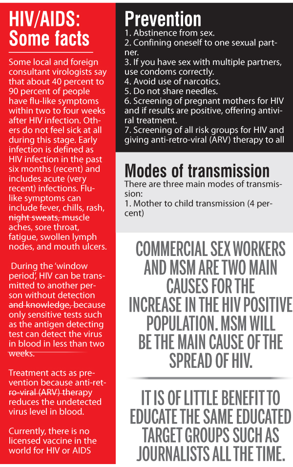 HIV risk in Sri Lanka | Daily News