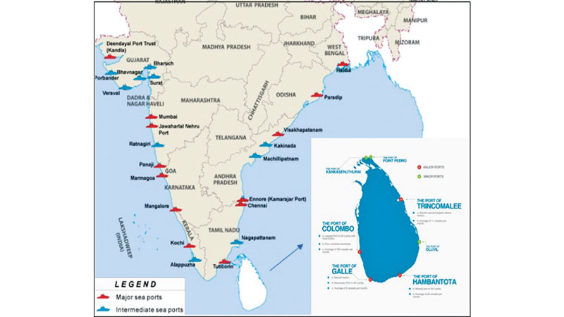 India's new Port Development strategy and its implications ... on france and india map, germany and india map, ceylon map, laos and india map, nigeria and india map, pakistan and india map, mount everest on india map, thailand and india map, india-pakistan bangladesh map, nepal-tibet india map, india and nepal map, southern india on a map, asia and india map, mughal empire india map, england and india map, greece and india map, malaysia and india map, australia and india map, kenya and india map, singapore and india map,