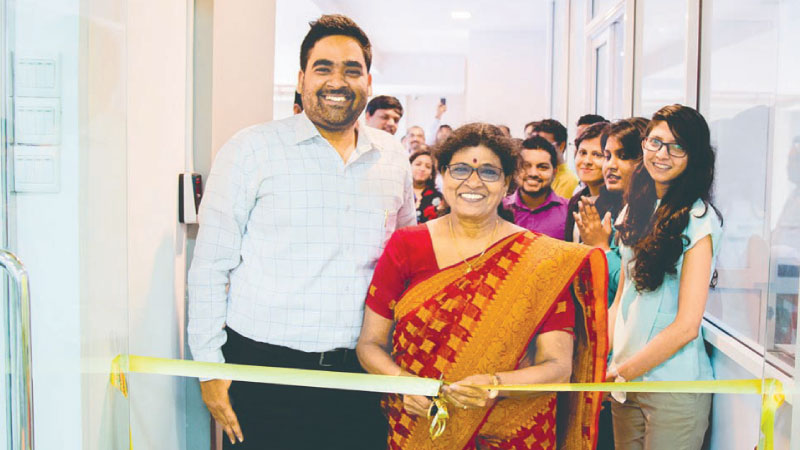 The official ribbon-cutting ceremony of Rootcode Labs with Founder & CEO Alagan Mahalingam