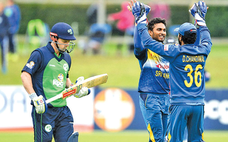 Sri Lanka will host Ireland for the first-over Test match between the two countries next year.