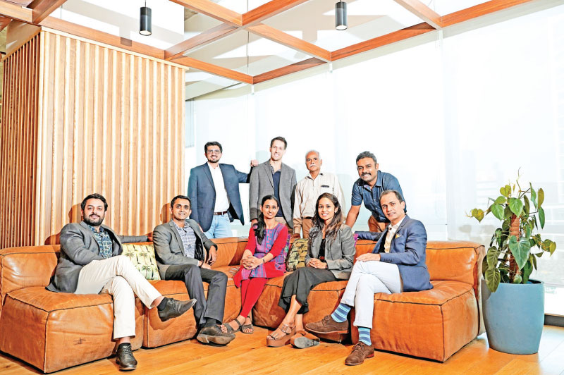 From Left: Parth Patil – CEO and Managing Director and Ravi Agrawal – Co-founder & investor of Infinichains, Krunal Patel – COO of Indra, Zack Whaley – Chief Supply Chain Officer of Purfi, Dr Rachana Shukla - Scientist 'B' at Sasmira, Keshav Deo Sharma – Cofounder of Descatuk, Shikha Shah – Founder and CEO of AltMat, Fidal Kumar – Founder and CTO of JSP Enviro and Amit Gautam – CEO and Founder of Textile Genesis.  Absent from the image is Graham Ross – Founder of Block Texx.