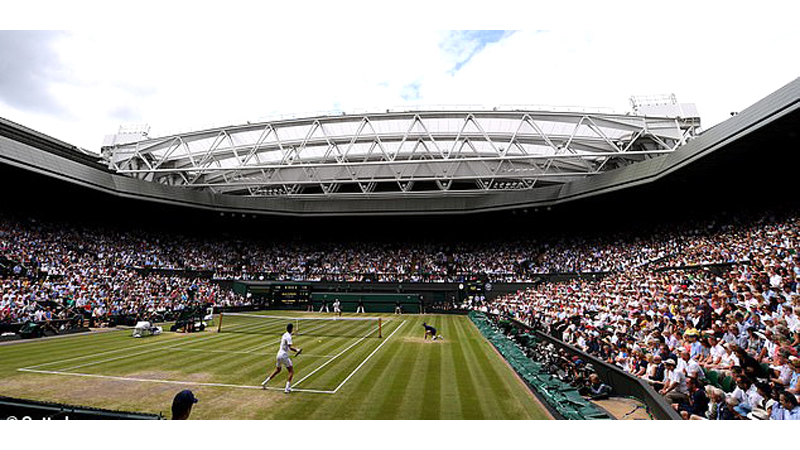 Wimbledon was cancelled because of the ongoing coronavirus pandemic