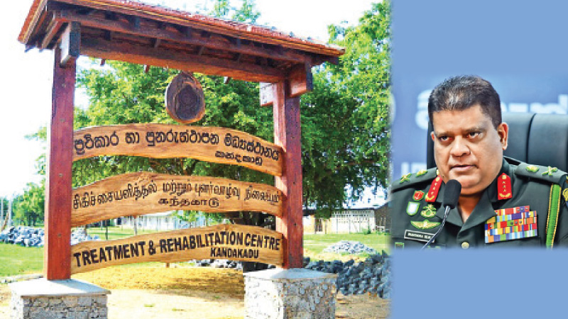 Head of the National Operation Centre for the Prevention of COVID-19 Lt. Gen. Shavendra Silva.