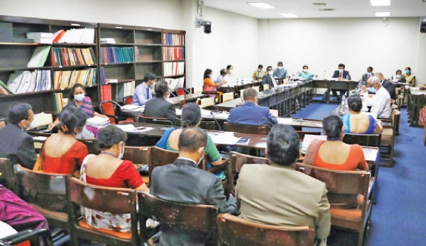 Participants at the meeting.