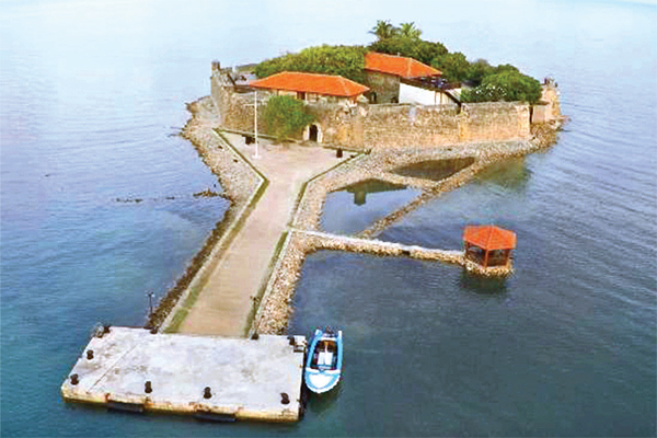 Aerial view of the Fort