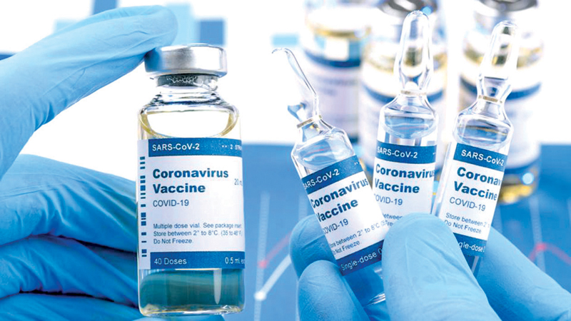Tests on mixing different types of COVID-19 vaccines.